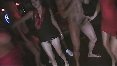 Boozed up sluts in california in a cfnm party