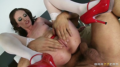 Reverse cowgirl young doctor slut Hailey Young fucked