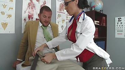 Scott Nails gets sent to Jessica Jaymes a school nurse